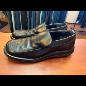 Coach Leather Slip-On Shoes